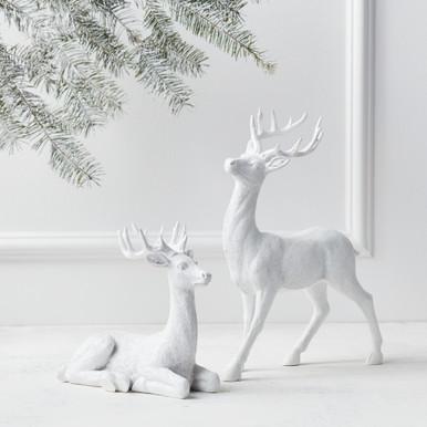 "Majestic Deer - 8""H & 14""H"