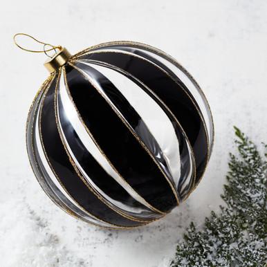 Oversized Stripe Ornament