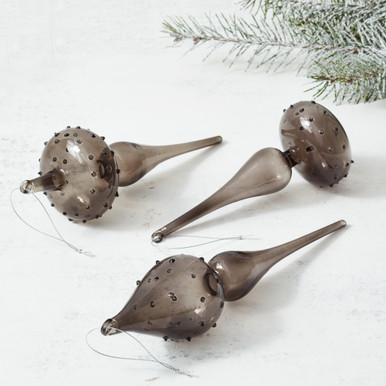 Finial Ornament - Set of 3