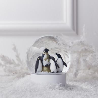 Penguins Snow Globe
