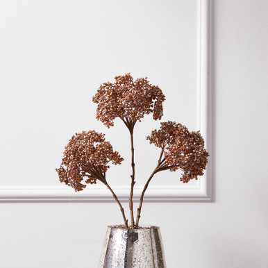 Metallic Berry Stem - Set of 3