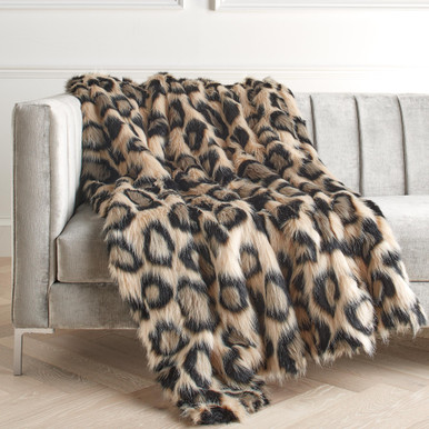Leopard Oversized Throw