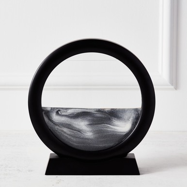 Sand Art with Stand - Black