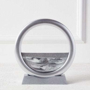 Sand Art with Stand - Silver
