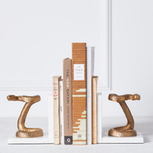 Serpent Bookends