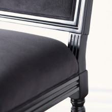 Callan Dining Chair - High Gloss Black