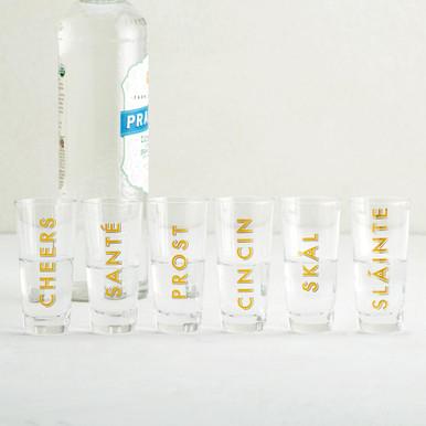 Cheers Shot Glass Set