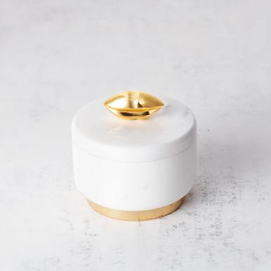 The Kiss Marble Vanity Box