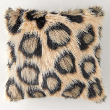 Leopard Pillow 18""