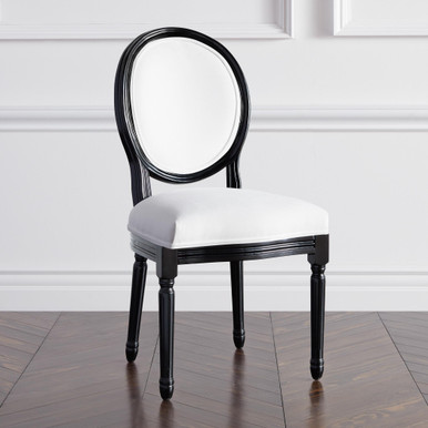 Camille Dining Chair - High Gloss Black