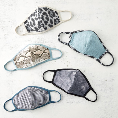 Face Masks - Set of 5