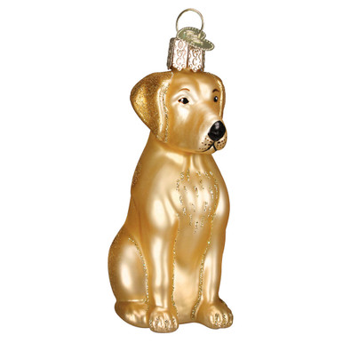 Golden Labrador Ornament