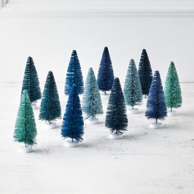 Rainbow Trees - Set of 12