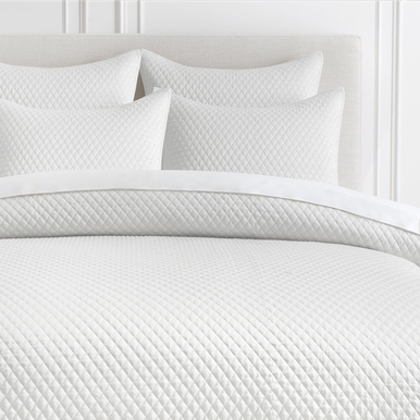 Avalon Bedding - White