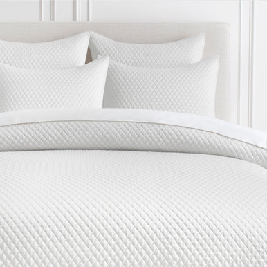 Avalon Bedding - White