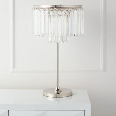 Luxe Crystal Table Lamp
