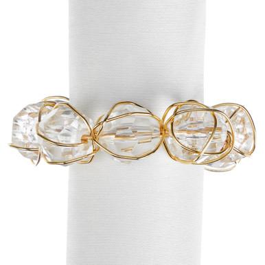 Anna Napkin Ring - Set of 4