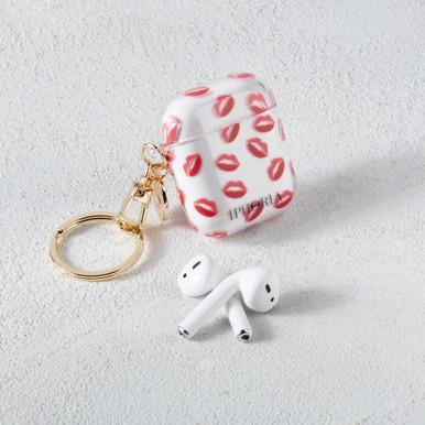 Kiss Airpod Keychain