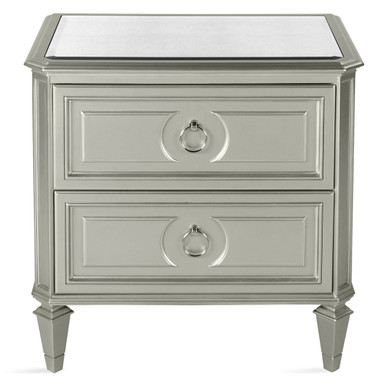 In Stock - Regal 2 Drawer Nightstand