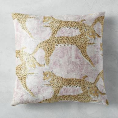 "Jungle Cat Pillow 22"""