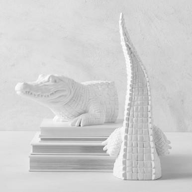Alligator Bookends