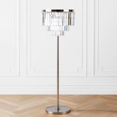 Luxe Crystal Floor Lamp