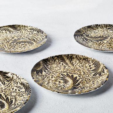 Flora Appetizer Plate Set