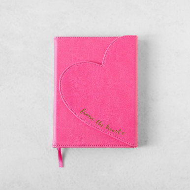 Heart Flap Journal - From The Heart