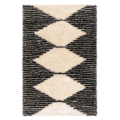 Catalina Rug - Black/Ivory