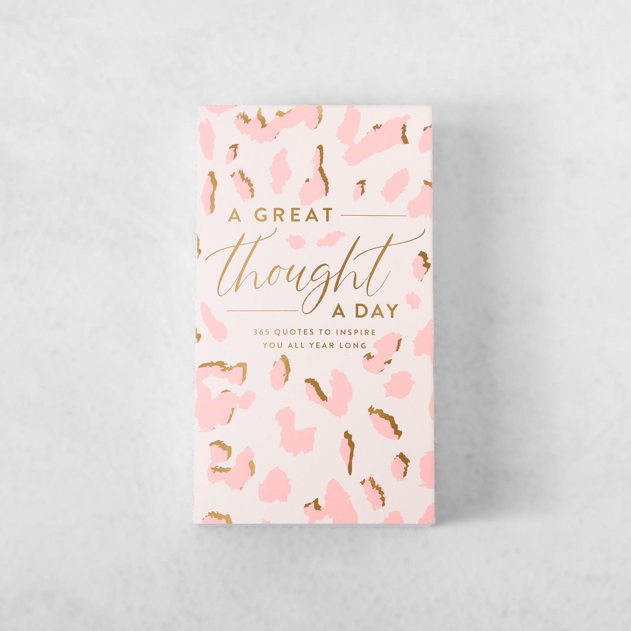 A Great Thought A Day Pad