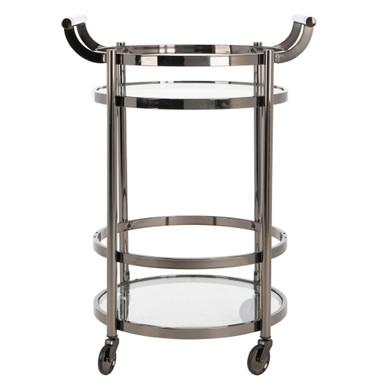 Sierra Bar Cart - Gunmetal