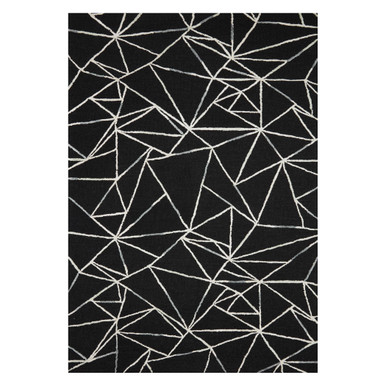 Baldwin Rug - Black