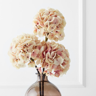 French Hydrangea Stem - Set of 3