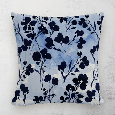 """Adelaide Floral Outdoor Pillow 18"""""""