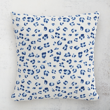 "Brush Cheetah Outdoor Pillow 18"""