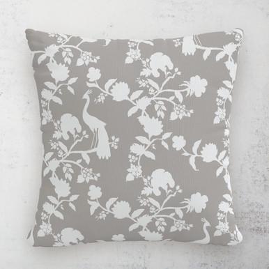 """Peacock Outdoor Pillow 18"""""""