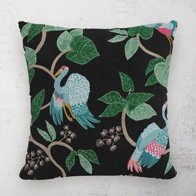 "Josephine Chinoiserie Outdoor Pillow 18"""