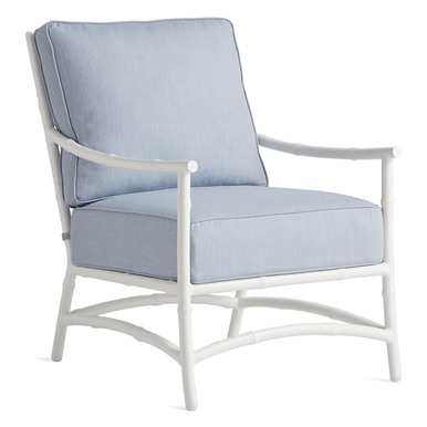 Savannah Outdoor Lounge Chair - Chambray