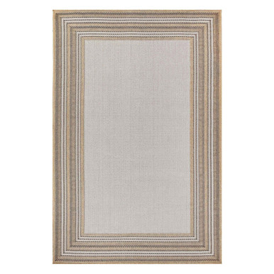 Border Outdoor Rug - Sand