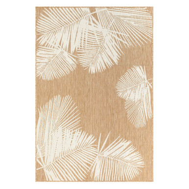 Palm Outdoor Rug - Ivory