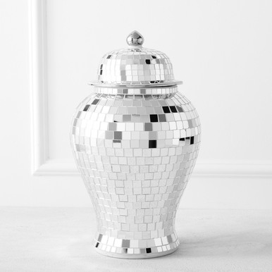 Mirrored Mosaic Canister