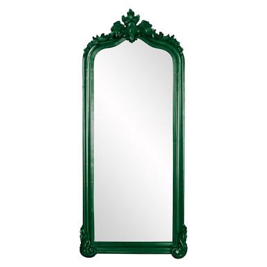 Tudor Mirror - Glossy Hunter Green