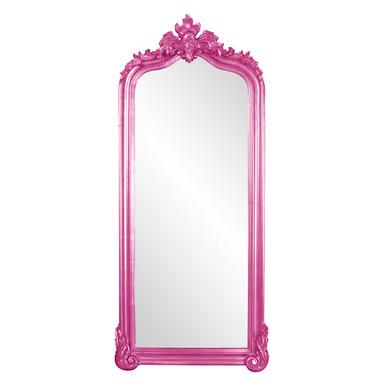Tudor Mirror - Glossy Hot Pink