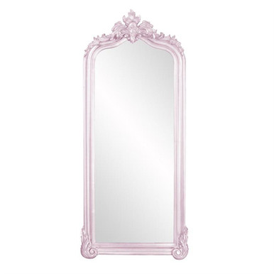 Tudor Mirror - Glossy Lilac