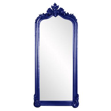 Tudor Mirror - Glossy Navy Blue