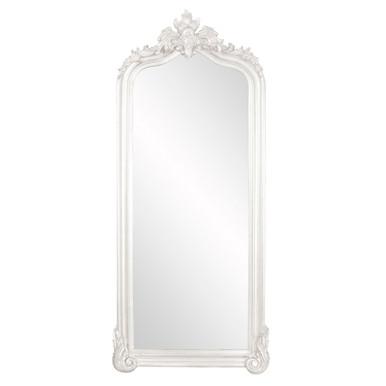 Tudor Mirror - Glossy White