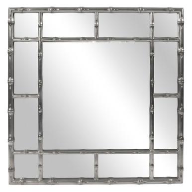 Bamboo Mirror - Glossy Charcoal