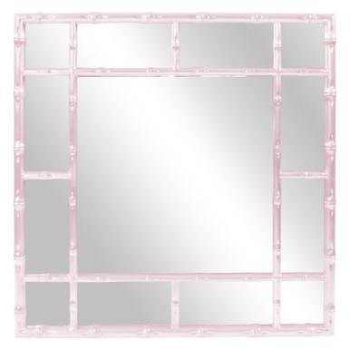 Bamboo Mirror - Glossy Lilac