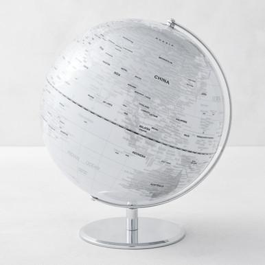 World Globe - White