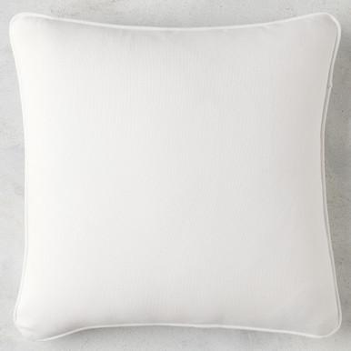 Linen Snow Outdoor Pillow - Set of 2